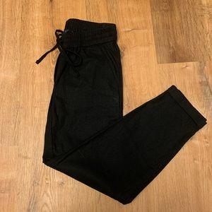 J. By J. Crew Black Skinny/jogger Pants Size 00!!